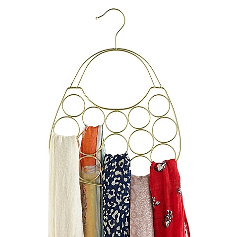 image of Purse-Shaped Scarf Hanger