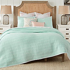 Coastal Living 174 Sand Script Quilt Set Bed Bath Amp Beyond