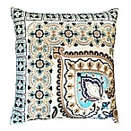Kate 20-Inch Square Throw Pillow in Ivory