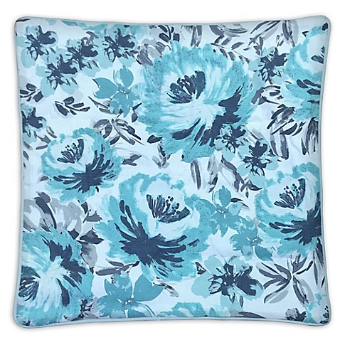 Envogue International Aster Accent Pillows in Dusty Blue (Set of 2) - Bed Bath & Beyond
