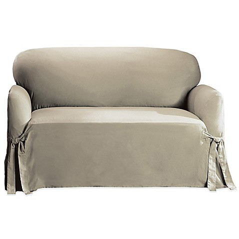 Sure Fit Cotton Sofa Slipcover Bed Bath Beyond