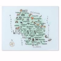 Totally Bamboo® My Place Wisconsin Cutting/Serving Board