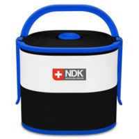 NDK Double Decker 57 oz. Food Container in Black