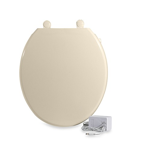 ultratouch heated toilet seat almond bed bath beyond
