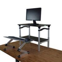 LIFT Standing Desk Conversion Kit in Black/ Silver