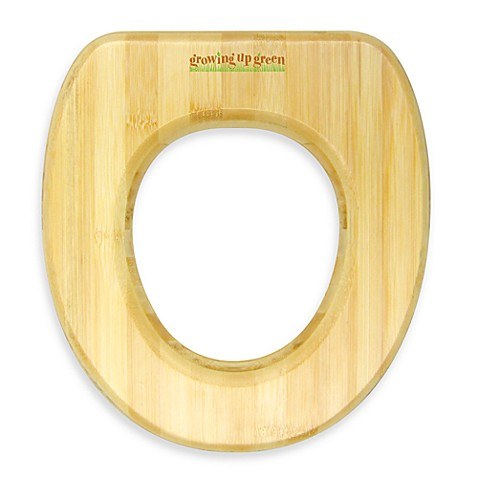 growing up green child 39 s bamboo toilet seat buybuy baby