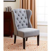 Abbyson Living® Sierra Wingback Dining Chair in Grey