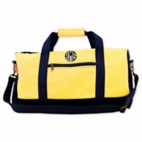 CB Station Adventure Duffle in Yellow/Navy