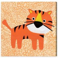 Olivia's Easel Tiger 16-Inch x 16-Inch Canvas Wall Art