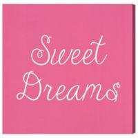 "Olivia's Easel ""Sweet Dreams"" 16-Inch x 16-Inch Canvas Wall Art"