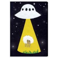 Olivia's Easel 30-Inch x 45-Inch What Sheep Wall Art