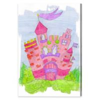 Dream Castle 30-Inch x 45-Inch Canvas Wall Art