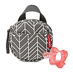 SKIP*HOP® Grab & Go Pacifier Pocket in Grey Feather