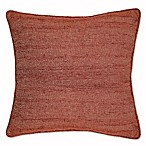 Snapshot Square Throw Pillow in Rust