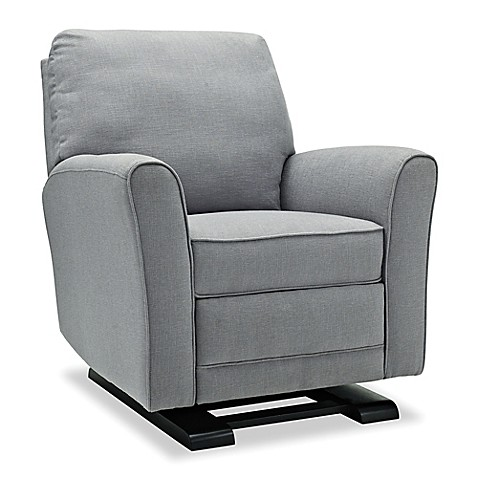 bebe confort raine glider recliner in grey bed bath. Black Bedroom Furniture Sets. Home Design Ideas