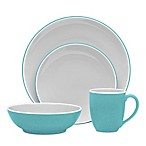 Noritake® ColorTrio Coupe 4-Piece Place Setting in Turquoise