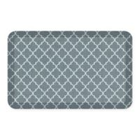 GelPro® NewLife® Lattice 20-Inch x 32-Inch Designer Comfort Mat in Mineral Grey