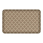 GelPro® NewLife® Lattice 20-Inch x 32-Inch Designer Comfort Mat in Tan