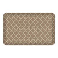 GelPro® NewLife® Lattice 20-Inch x 32-Inch Designer Comfort Mat in Tan