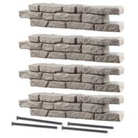 RockLock 4-Pack Border System Straight Section