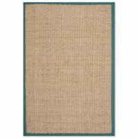 Safavieh Natural Fiber Johanna 2-Foot x 3-Foot Accent Rug in Natural/Blue