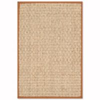 Safavieh Natural Fiber Johanna 4-Foot x 6-Foot Area Rug in Natural/Brown