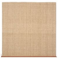 Safavieh Natural Fiber Johanna 8-Foot Square Area Rug in Natural/Brown