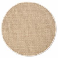 Safavieh Natural Fiber Johanna 8-Foot Round Area Rug in Natural/Ivory