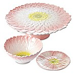 Julia Knight® Bloom Serveware Collection in Pink