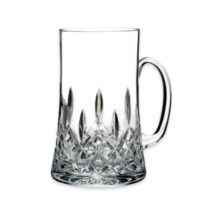 waterford lismore connoisseur beer mugs set of 2 - Glass Beer Mugs