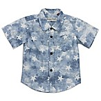 Sovereign Code™ Size 0-3M Washed Stars Shirt in Blue/White