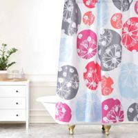 Deny Designs Rachael Taylor Snow Drops Shower Curtain