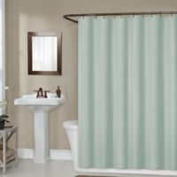 Titan 70-Inch x 72-Inch Waterproof Fabric Shower Curtain Liner in Green