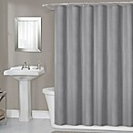 Titan 70-Inch x 72-Inch Waterproof Fabric Shower Curtain Liner in Grey