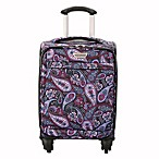 Ricardo Beverly Hills® Mar Vista 2.0 17-Inch Carry On Spinner Suitcase in Midnight Paisley