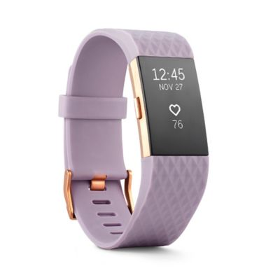 Fitbit® Charge 2™ Large Wireless Activity Wristband in Rose Gold