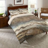 Laural Home® Lava Flow Twin Comforter in Brown