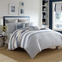 Nautica® Fairwater Twin Duvet Cover Set in Medium Blue