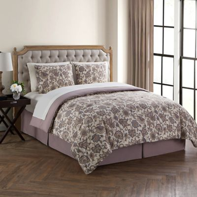 vcny home avon 8piece king comforter set in lavender