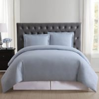 Truly Soft Everyday Full/Queen Duvet Cover Set in Light Blue