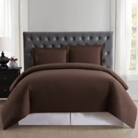 Truly Soft Everyday Full/Queen Duvet Cover Set in Brown