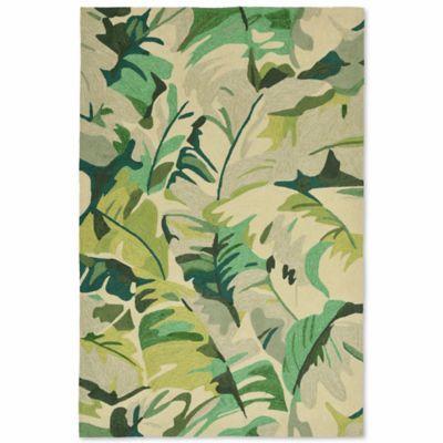 liorra manne capri palm leaf 5foot x 7foot 6inch indoor