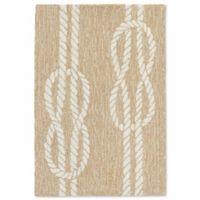 Liora Manne Capri Ropes 2-Foot x 3-Foot Indoor/Outdoor Accent Rug in Neutral