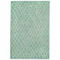 Liorra Manne Wooster Twist 7-Foot 6-Inch x 9-Foot 6-Inch Indoor/Outdoor Area Rug in Aqua