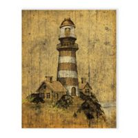 Lighthouse 16-Inch x 20-Inch Canvas Wall Art