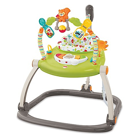 Fisher Price 174 Spacesaver Jumperoo In Woodland Friends