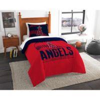 MLB Los Angeles Angels Grand Slam Twin Comforter Set