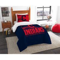MLB Cleveland Indians Grand Slam Twin Comforter Set