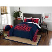 MLB Cleveland Indians Grand Slam Full/Queen Comforter Set