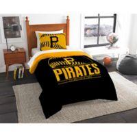 MLB Pittsburgh Pirates Grand Slam Twin Comforter Set